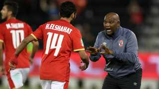 Al Ahly coach Pitso Mosimane is looking to bolster his squad for next season. Picture: BackpagePix