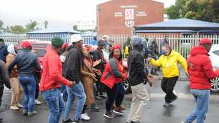 All eyes will be on Brackenfell High School this morning as EFF protesters march on the area in a show of force. Picture: Henk Kruger/African News Agency(ANA)