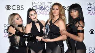 Ally Brooke, from left, Lauren Jauregui, Dinah Jane, and Normani Hamilton of the musical group Fifth Harmony. Picture: Jordan Strauss/Invision/AP