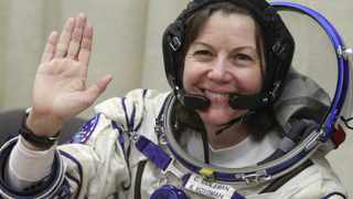 American astronaut Catherine Coleman is a crew member of the Soyuz mission to the International Space Station.