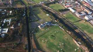 An aerial view of The River Club, Observatory. File picture: Andrew Ingram