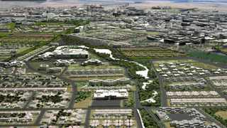 An artist's impression of Wescape, the planned mini city expected to be built between Melkbosstrand and Atlantis.