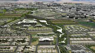 An artist's impression of Wescape, the planned mini-city expected to be built between Melkbosstrand and Atlantis.