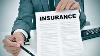 An insurance claim. Picture: File picture: IOL