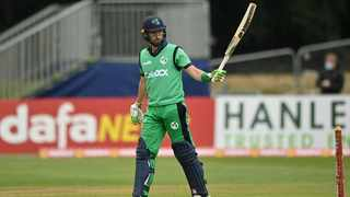 Andy Balbirnie scored for 65 against the Proteas. Picture: Ireland Cricket via Twitter