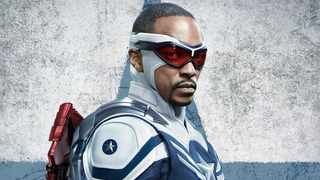 Anthony Mackie as Captain America in 'Falcon and The Winter Soldier'. Picture: Marvel Studios