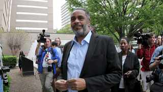 Anthony Ray Hinton walks out of Jefferson County Jail in Birmingham, Alabama on April 3, 2015 after almost 30 years on death row for a crime he did not commit. File picture: Marvin Gentry/Reuters