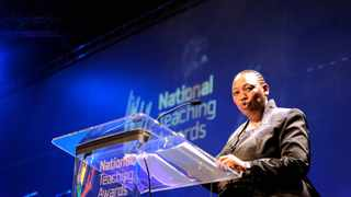 Applications open for the National Teachers Awards. Picture: GCIS/SAPA