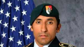 Army Staff Sgt. Logan Melgar, a Green Beret, died from non-combat related injuries in Mali in June 2017.  Picture: U.S. Army via AP