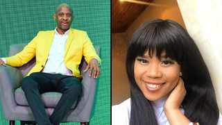 Arthur Mafokate and Chomee. Picture: Instagram