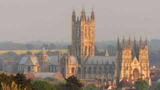 As a major tourism city 107km south east of London, Canterbury is in danger of losing its beauty and history. Picture: IANS
