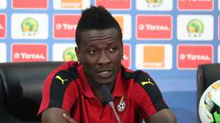 Asamoah Gyan is Ghana's all-time leading goal-scorer in the national team with 51 goals in his 106 appearances. Photo: Chris Ricco/BackpagePix