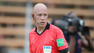 Assistant referee Shaun Olive during the 2021 Nedbank Cup last 16 match between Black Leopards and AmaZulu. Photo: Samuel Shivambu/BackpagePix
