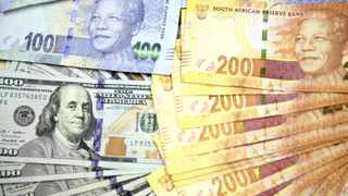 At 5pm the rand was bid 10c stronger than the same time bid on Monday at R17.24 against the dollar. Photo: Reuters