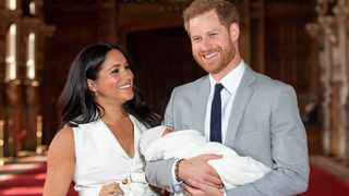Baby Archie is revealed to the world by an overjoyed Prince Harry and his wife, Meghan. File ppicture: AP