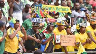 Bafana Bafana supporters are set to be welcomed back to FNB Stadium next Tuesday against Ethiopia. Picture: Itumeleng English/ African News Agency(ANA)