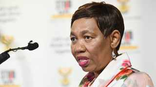 Basic Education Minister Angie Motshekga briefs South Africans on the country's readiness to start the 2021 academic year. Picture: Kopano Tlape/GCIS