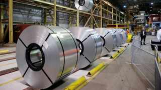 Basic iron and steel, non-ferrous metal products, metal products and machinery; food and beverages; and wood and wood products, paper, publishing and printing also went up. Photo: File
