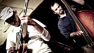 Bassist Shane Cooper(R) is part of The Reza Khota Quartet which heads on a national tour from February 26. Picture Sara Gouveia Reporter Atiyyah Khan