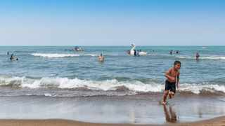 Bathers on a beach in Algeria. File picture: SofieLayla Thal/Pixabay