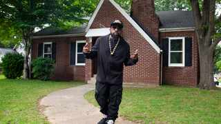 Big Boi invites music fans to stay at the iconic Dungeon Family house. Picture: Cameron Kirkland.