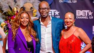Boity Thulo, Monde Twala, and Modiehi Thulo at the launch of the show. Picture: Ant Eye Photography.