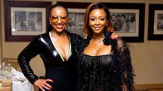 Boity and her mom Modiehi Thulo. Picture: Instagram