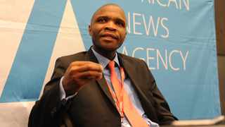 Bongani Mankewu from the Infrastructure Research Development Centre at the Infrastructure Africa conference in Sandton, Johannesburg. Picture: Karen Sandison/African News Agency (ANA)