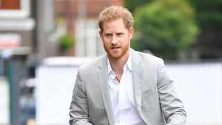 Britain's Prince Harry Picture: Toby Melville/Reuters