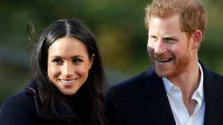 Britain's Prince Harry and his wife Meghan Markle. File picture: Frank Augstein/AP