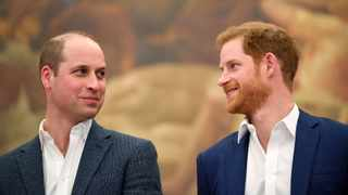 Britain's Prince William and Prince Harry. File picture: Toby Melville/Reuters