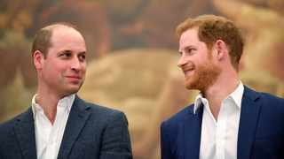 Britain's Prince William and Prince Harry. Picture: Toby Melville/Reuters