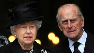 Britain's Queen Elizabeth and Prince Phillip. Picture: Toby Melville/Reuters