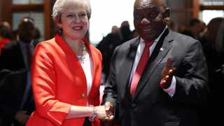 Britain supports South Africa's land reform programme provided it is carried out legally, Prime Minister Theresa May said in Cape Town. Picture: Reuters/Mike Hutchings