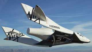 British billionaire Sir Richard Branson's private spaceship company Virgin Galactic Holdings completed its first manned space flight from its new home port in New Mexico. Photo: File