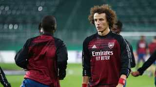 British media reports said defender David Luiz (pictured) and midfielder Dani Ceballos had clashed in a training session. Photo: Lisi Niesner/Reuters