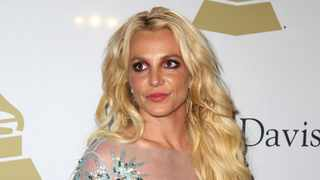 Britney Spears at the Clive Davis and The Recording Academy Pre-Grammy Gala in Beverly Hills, Calif. Picture: AP