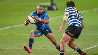Bulls wing Cornal Hendricks tries to beat a Western Province defender during their Currie Cup semi-final. Picture: Christiaan Kotze/BackpagePix