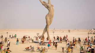 Burning Man organizers are stressing the importance of consent at their Nevada festival. Pic: wespoher.com