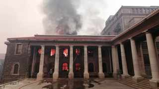 CAPE Town: The raging wildfire that gutted the iconic Rhodes Memorial restaurant and damaged the microbiology lab at UCT is believed to have been started by a vagrant's fire, according to Table Mountain National Park (TMNP). Pic supplied