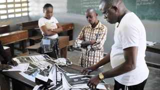 CONGOLESE election commission officials seal the results of Sunday's elections in the St Raphael School polling centre in the Limete district of Kinshasa on Monday. On January 16 2019, it was announced that continental leaders will gather at the African Union this week to discuss the disputed election in the DRC. File picture: AP African News Agency (ANA)