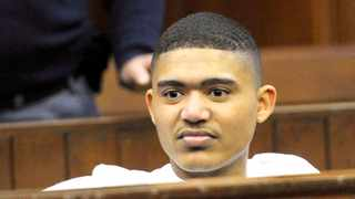 Cameron Wilson in the Western Cape High Court, where he was found guilty yesterday of multiple charges, including murder. Picture: Noor Slamdien
