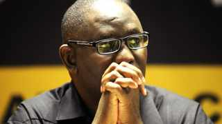 Cape Town 020313 The COSATU General Secretary Zwelinzima Vavi addresses at the SACTWU's Annual bargaining conference at the Nelson Mandela garden Court Hotel. picture : neil baynes