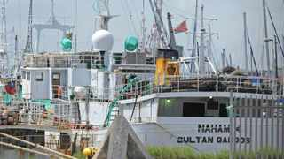 Cape Town. 121013. The Asset Forfeiture Unit AFU obtained a High Court order this week allowing to attach the vessel Naham 4 after it is suspected it of being stolen and of illegally fishing in South Africa's exclusive zone. Picture Leon lestrade
