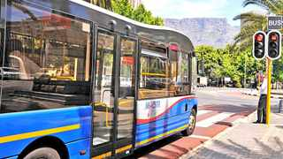 Cape Town - 121016 - MyCiti - Public transport within the city centre. PICTUER: RYAN JACOBS