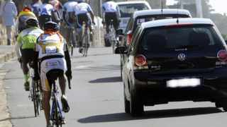 Cape Town 28-10-12 -Cyclists ar St James close to were a cyclist was killed last week  Picture Brenton Geach