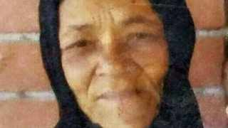 Cape Town. Gafsa Roberts, 61. picture file