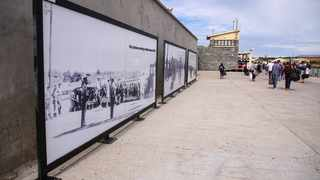 Cape Town, SOUTH AFRICA - December 11 2020: A general view of a tour to the Robben Island Museum.(Photo by Roger Sedres)
