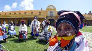 Cape Town. Women from the AmaXhosa tribe at the Heritage Day celebrations held at the Cape of Good Hope. Picture:Ian Landsberg/African News Agency (ANA)