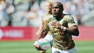 Captain Siviwe Soyizwapi will run out in his 29th tournament for the Springbok Sevens team. Photo: Ryan Wilkisky/BackpagePix